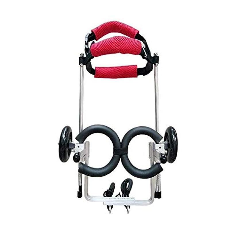 癒す非常にファンド安全なペット車椅子、高齢者、犬、スクーター、障害犬、補助犬、脚の運動、犬、猫、車(サイズ:L)