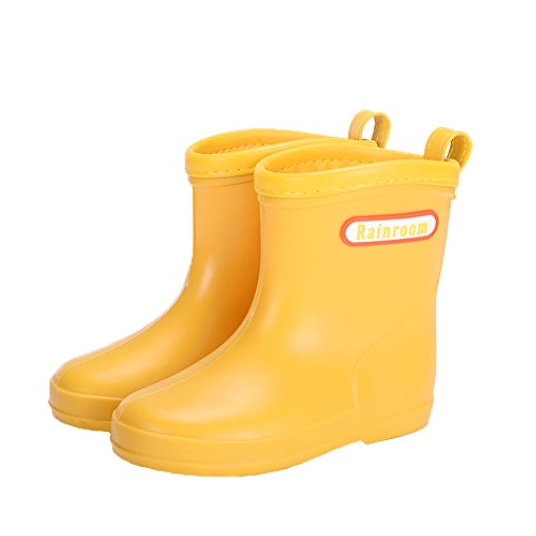 レインブーツ キッズ 子供 レインシューズ 雨靴 男の子 女の子 長靴 防水 軽量 レインブーツ 可愛い ジュニア 滑り止めレインブーツ 梅雨対策