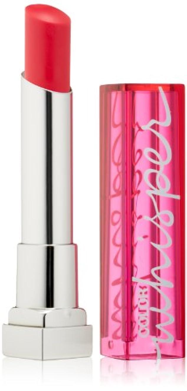 メイベリン Color Whisper Lipstick - # 50 Cherry On Top 3g/0.11oz並行輸入品