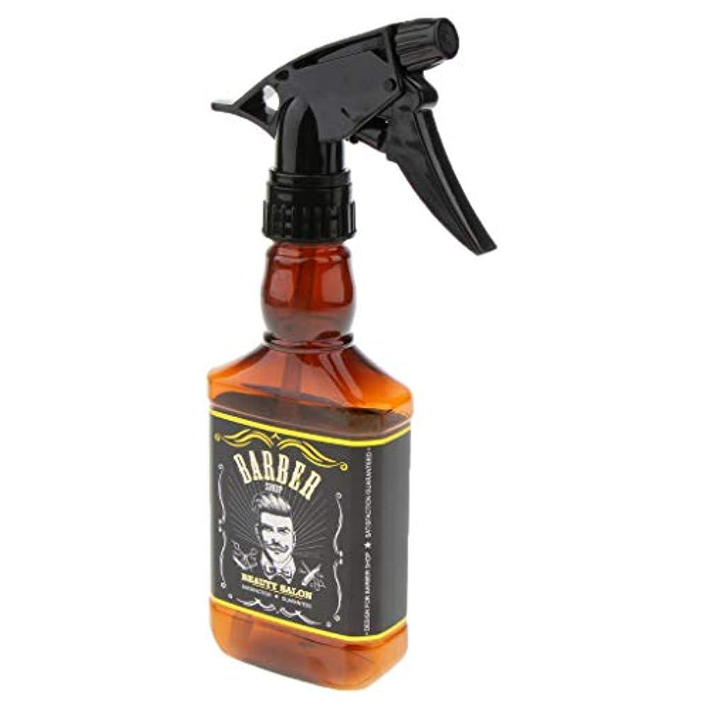 人間ぐるぐるレーニン主義ヘアスプレーボトル 水スプレー 空ボトル プラスチックボトル クリーニング ガーデニング 用品 2色選べ - 褐色