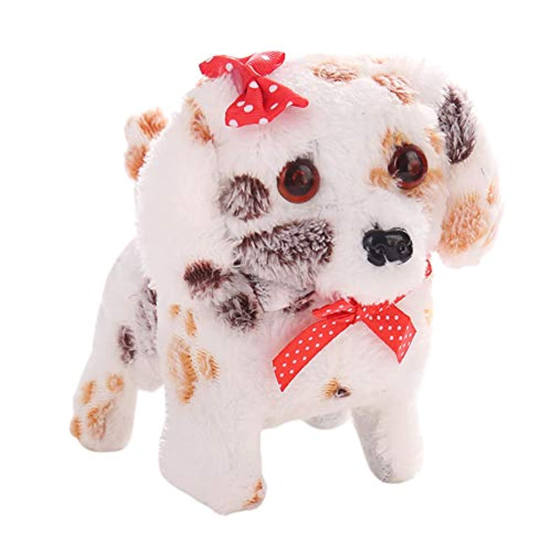 HiCollie おもちゃの犬 吠える ワンちゃん こえマネ 動く 歩く 照明おもちゃ 犬 かわいい 電気移動  子供 キッズ おもちゃ ぬいぐるみ ギフト