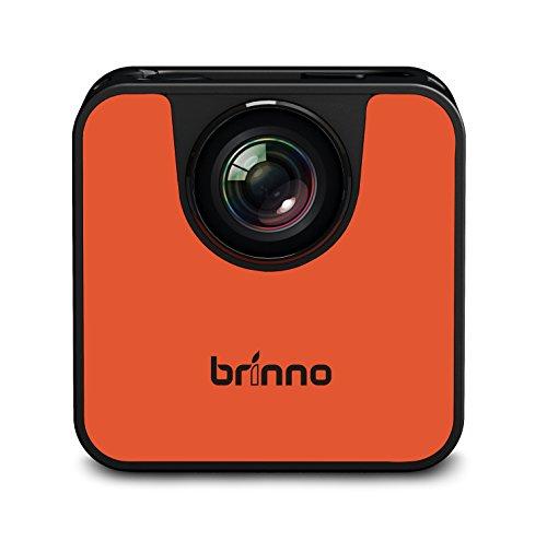 Brinno Wi-Fiダイレクト式タイムラプスカメラ オレンジ&ブラック