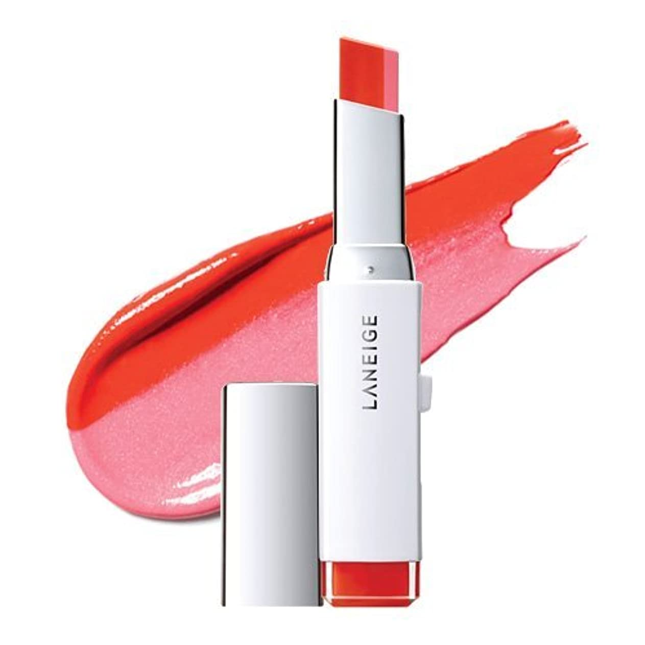 常習的最大化する曲がったLANEIGE Two Tone Lip Bar 2g (#3 Pink Salmon)