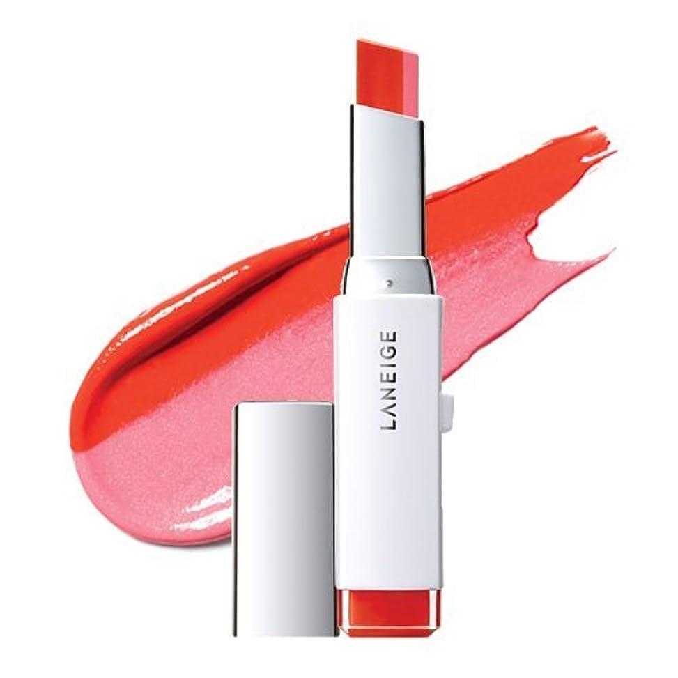 貢献するカウントアップ保持するLANEIGE Two Tone Lip Bar 2g (#3 Pink Salmon)