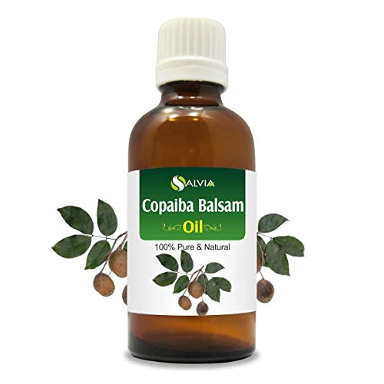 バナナ影響するチラチラするCopaiba Balsam (Copaifera Reticulata Syn C. Officinalis) 100% Natural Pure Essential Oil 50ml