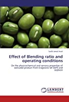 Effect of Blending Ratio and Operating Conditions
