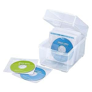 サンワサプライ 不織布ケース付きボックスケース(100枚収納) FCD-FBOX100N2