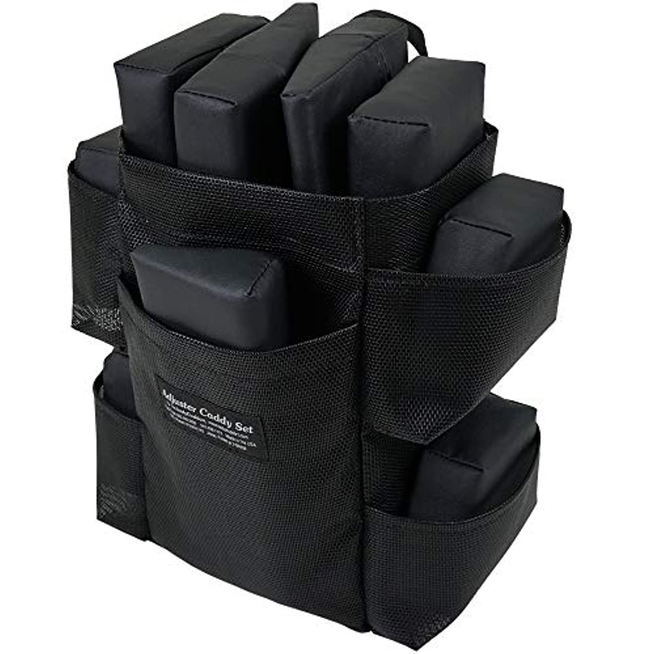 あらゆる種類のひどく突き出すピースバッグセット ボディークッション 用 の エクステンダーピース と アジャスターピース バッグ付き