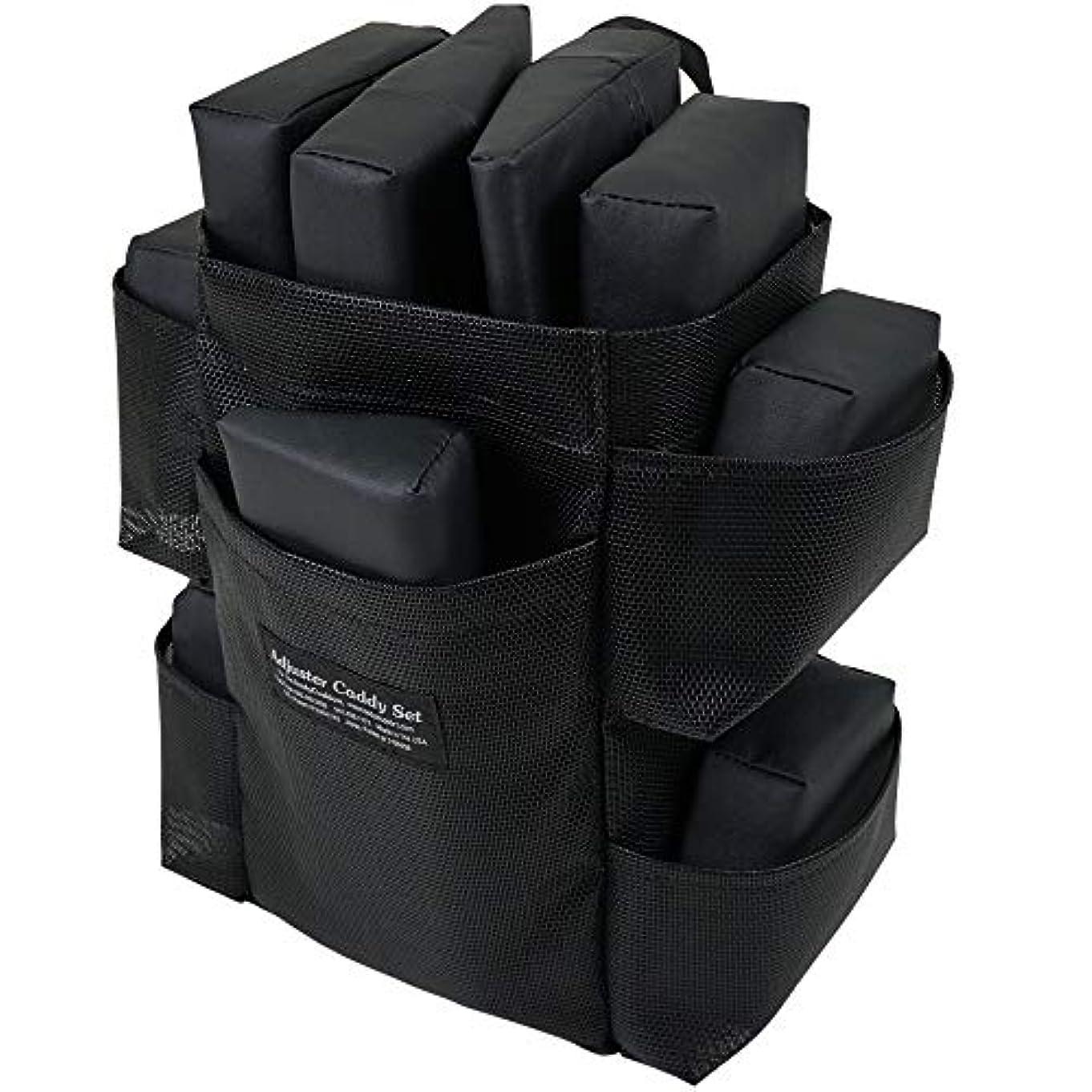 用心深い徹底荒らすピースバッグセット ボディークッション 用 の エクステンダーピース と アジャスターピース バッグ付き