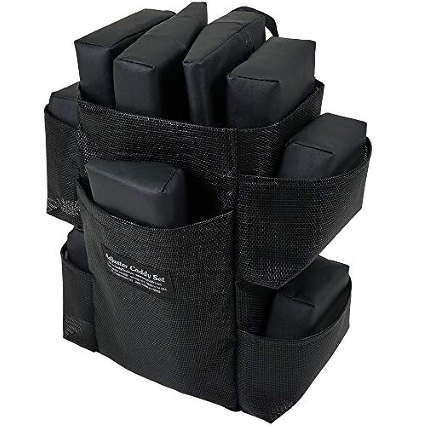 シードチャップ謙虚ピースバッグセット ボディークッション 用 の エクステンダーピース と アジャスターピース バッグ付き