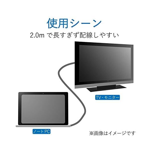 エレコム HDMIケーブル ハイスピード 2....の紹介画像7