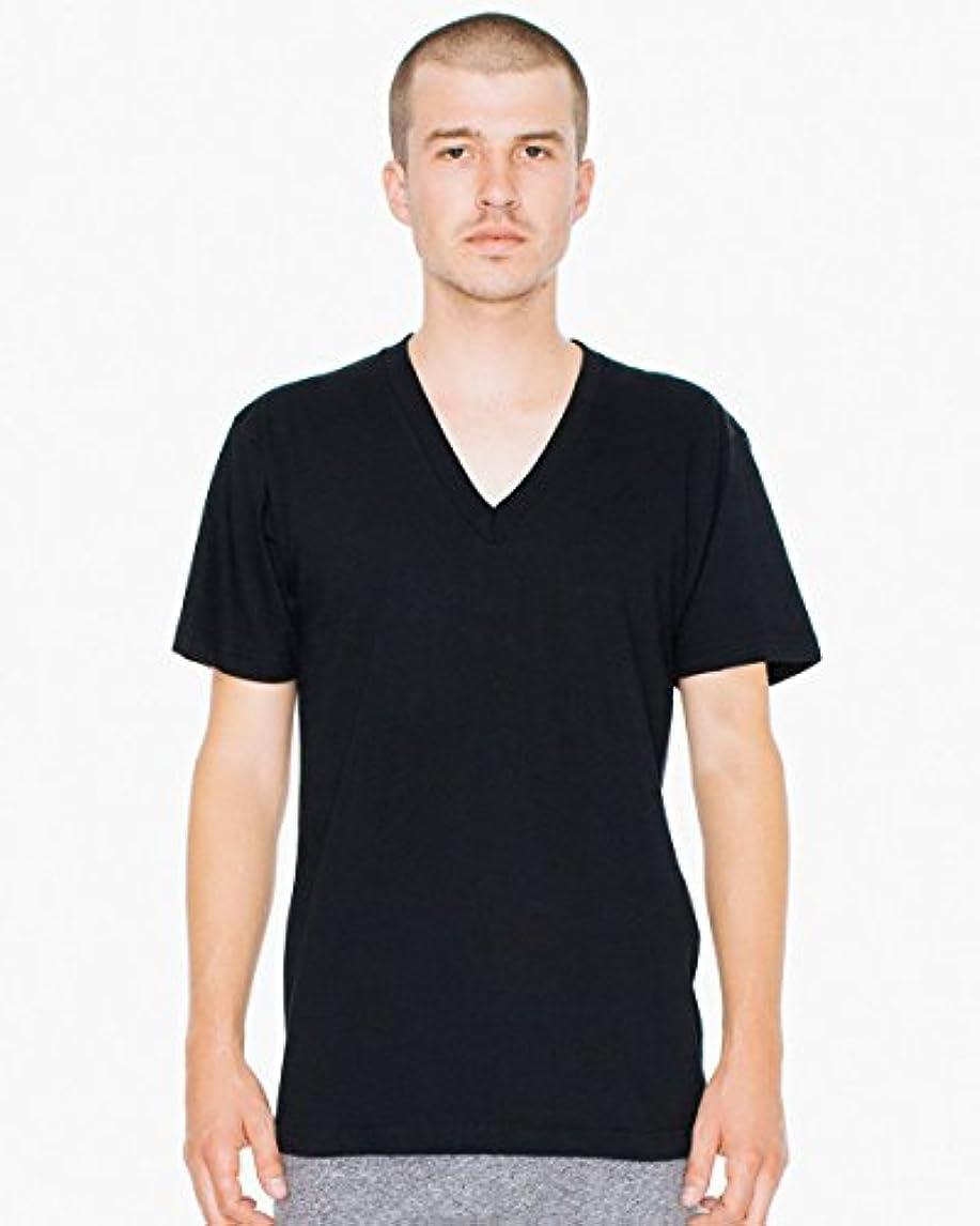 交流するディベートフェッチ(アメリカンアパレル)americanapparel ファインジャージー Vネック 半袖Tシャツ Fine Jersey V-Neck T-Shirt [並行輸入品]