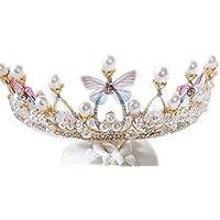 Tiara Kids Small Crown Headdress Princess Hair Accessories, Children's Headband Accessories Girl Crown