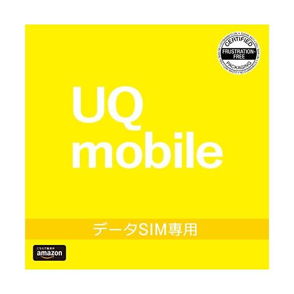 BIGLOBE UQ mobileエントリーパッ...の商品画像