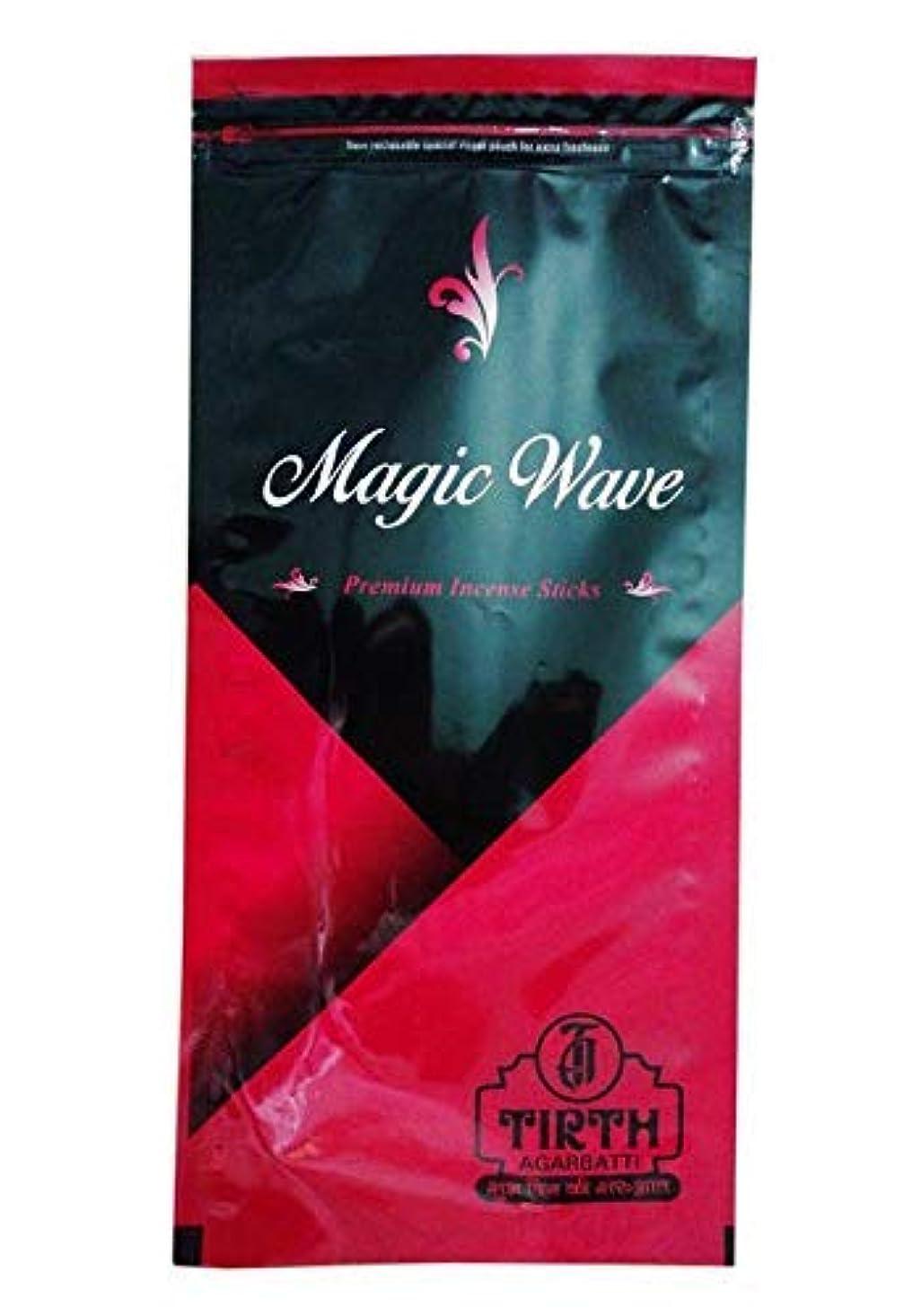 北極圏文字販売員TIRTH Magic Wave Premium Incense Stick/Agarbatti (170 GM Pack) Pack of 2
