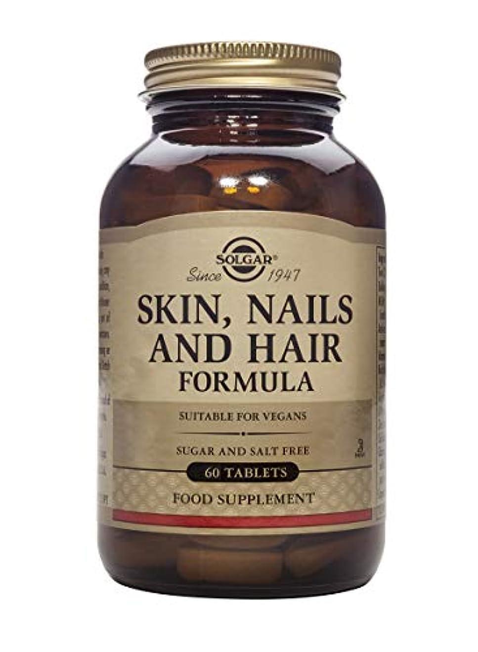 夕方カエルサロン海外直送品Skin,Nails and Hair Tablets, 60 Tabs by Solgar