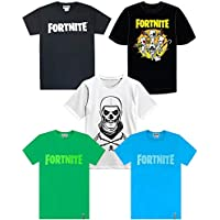 Vanilla Underground Fortnite Official Logo Boys T-Shirt's Kids Battle Royale Gaming Tee