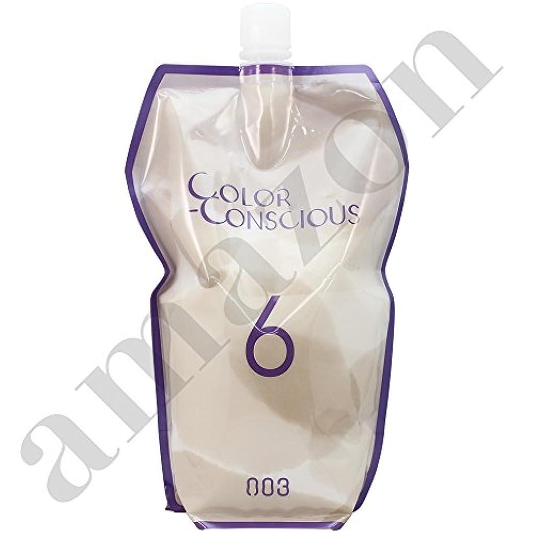 フリッパー良いボックス【ナンバースリー】カラーコンシャス (2剤) OX6.0 1200ml