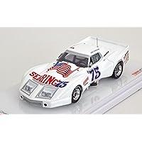 1975グリーンウッドコルベット# 75 Sebring 12hr Spirt of Sebringモデルカーin 1 : 43スケールby True Scale Miniatures