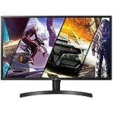 "LG 32UK550-B 32"" 4K UHD Monitor, 4ms (GTG), HDMI, Radeon FreeSync, DCI-P3 95%, Screen Split, Speaker, Black"
