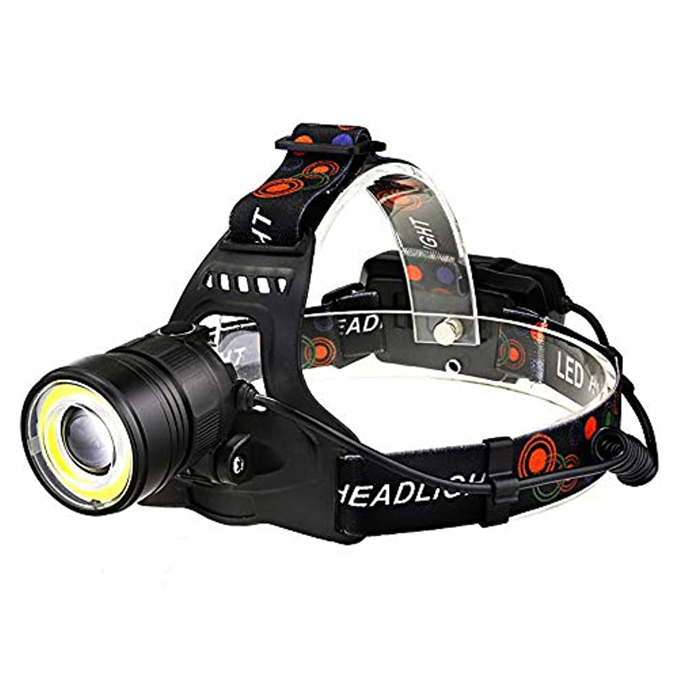 流用するボート水っぽいデュアルライトヘッドランプ, LED ヘッドライトグレア鉱夫のランプ釣りランプ長時間ショット懐中電灯超明るいヘッドマウントダブルランプを充電します。