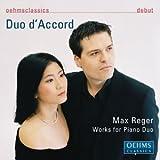 レーガー:6つの小品 Op. 94/6つのブルレスケ Op. 58/ベートーヴェンの主題による変奏曲とフーガ Op. 86 (2台ピアノ編)(デュオ・ダコール)