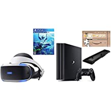 PlayStation VR PlayStation Camera 同梱版+PlayStation VR WORLDS (VR専用)+PlayStation 4 Pro ジェット・ブラック 1TB【Amazon.co.jp限定特典付】 セット