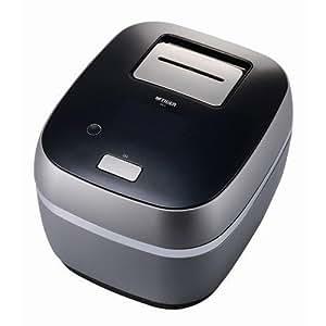 タイガー 炊飯器 土鍋圧力IH 「THE炊きたて」3.5合 プレミアムブラック JPX-A060-K