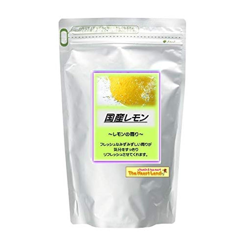 魅力的粉砕する霊アサヒ入浴剤 浴用入浴化粧品 国産レモン 300g