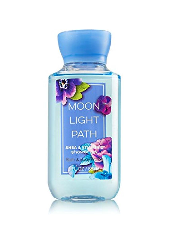 メジャー放射する透過性Bath & Body Works (バス&ボディワークス) ムーンライトパス シャワージェル トラベルサイズ Moonlight Path shower gel Travel-Size [並行輸入品]