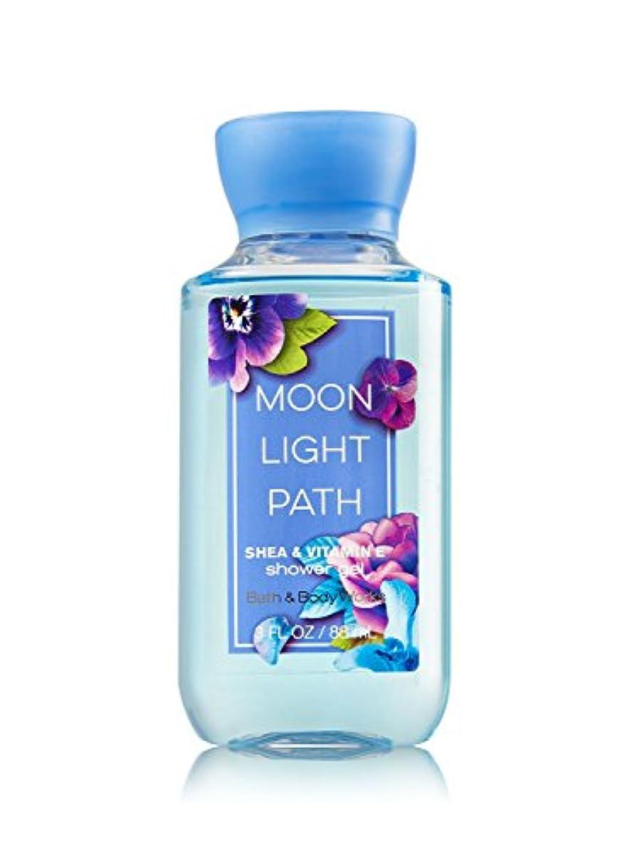 入口小さい植木Bath & Body Works (バス&ボディワークス) ムーンライトパス シャワージェル トラベルサイズ Moonlight Path shower gel Travel-Size [並行輸入品]