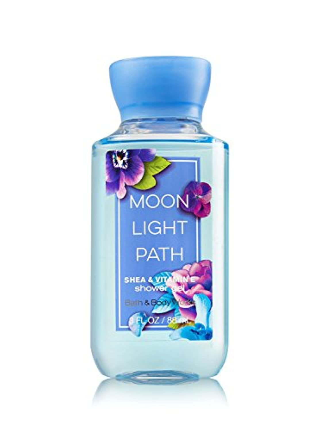 消毒剤反論軽量Bath & Body Works (バス&ボディワークス) ムーンライトパス シャワージェル トラベルサイズ Moonlight Path shower gel Travel-Size [並行輸入品]