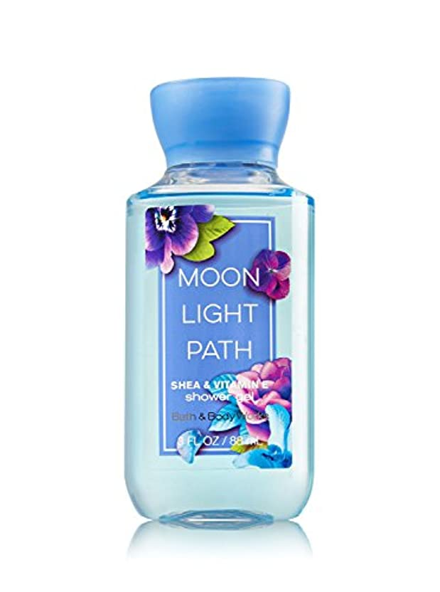 憤るチャーミングマージBath & Body Works (バス&ボディワークス) ムーンライトパス シャワージェル トラベルサイズ Moonlight Path shower gel Travel-Size [並行輸入品]