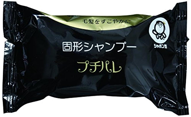 しっかり鎮静剤虚栄心シャボン玉 固形シャンプー プチパレ 100g