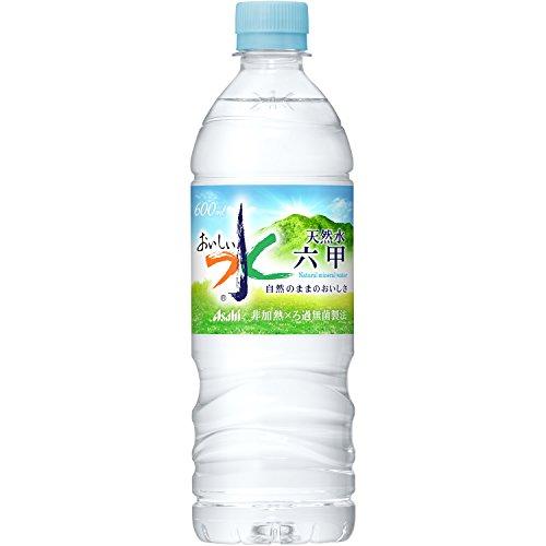 アサヒ飲料 おいしい水 六甲 600ml×24本