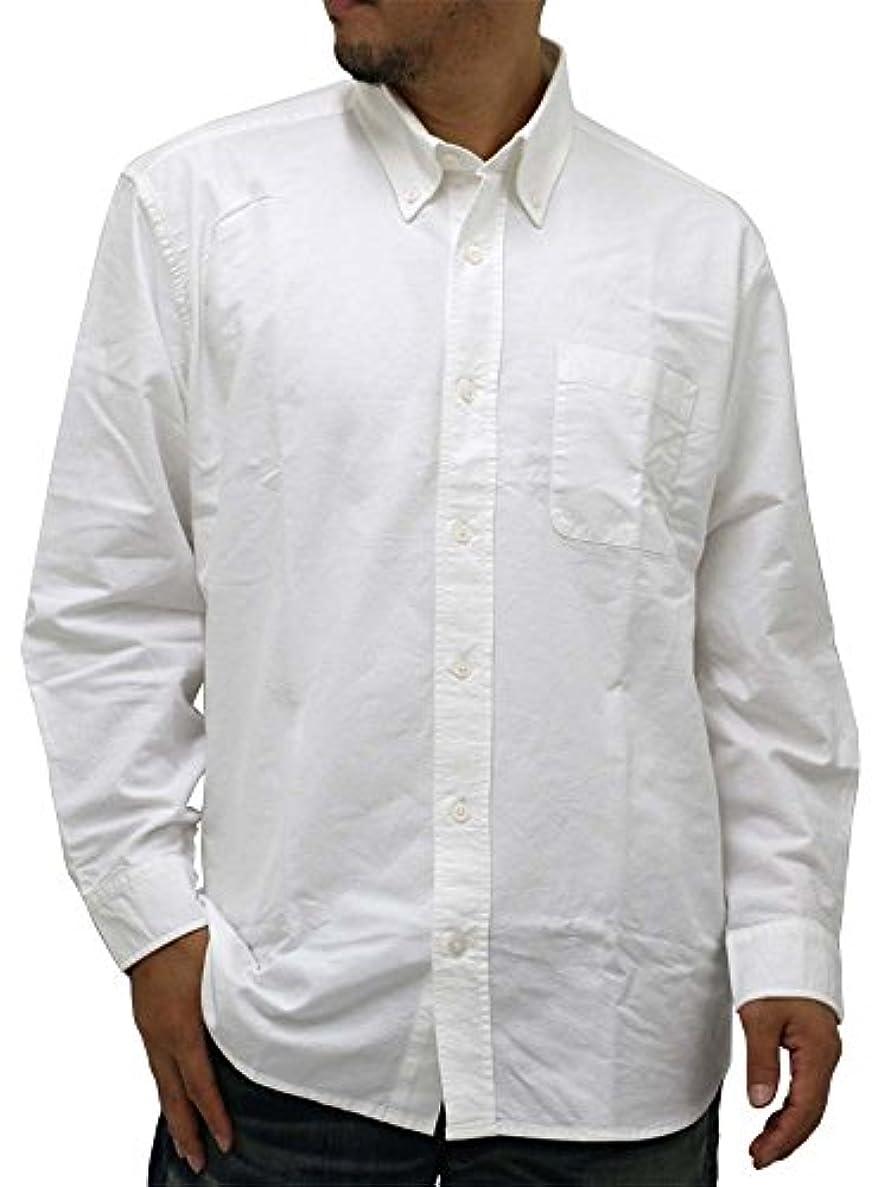 アサー船上コール[コスビー] 大きいサイズ メンズ シャツ ボタンダウン オックスフォード