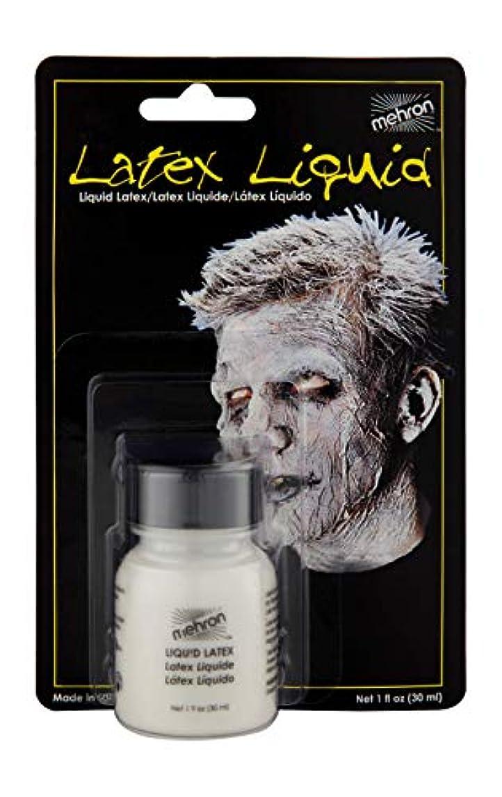 噴火緊張するグラディスLatex Liquid 1 oz with Brush - Clear by Mehron [並行輸入品]