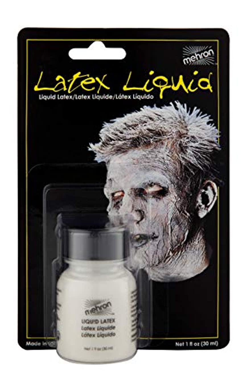 宗教アイロニーめったにLatex Liquid 1 oz with Brush - Clear by Mehron [並行輸入品]