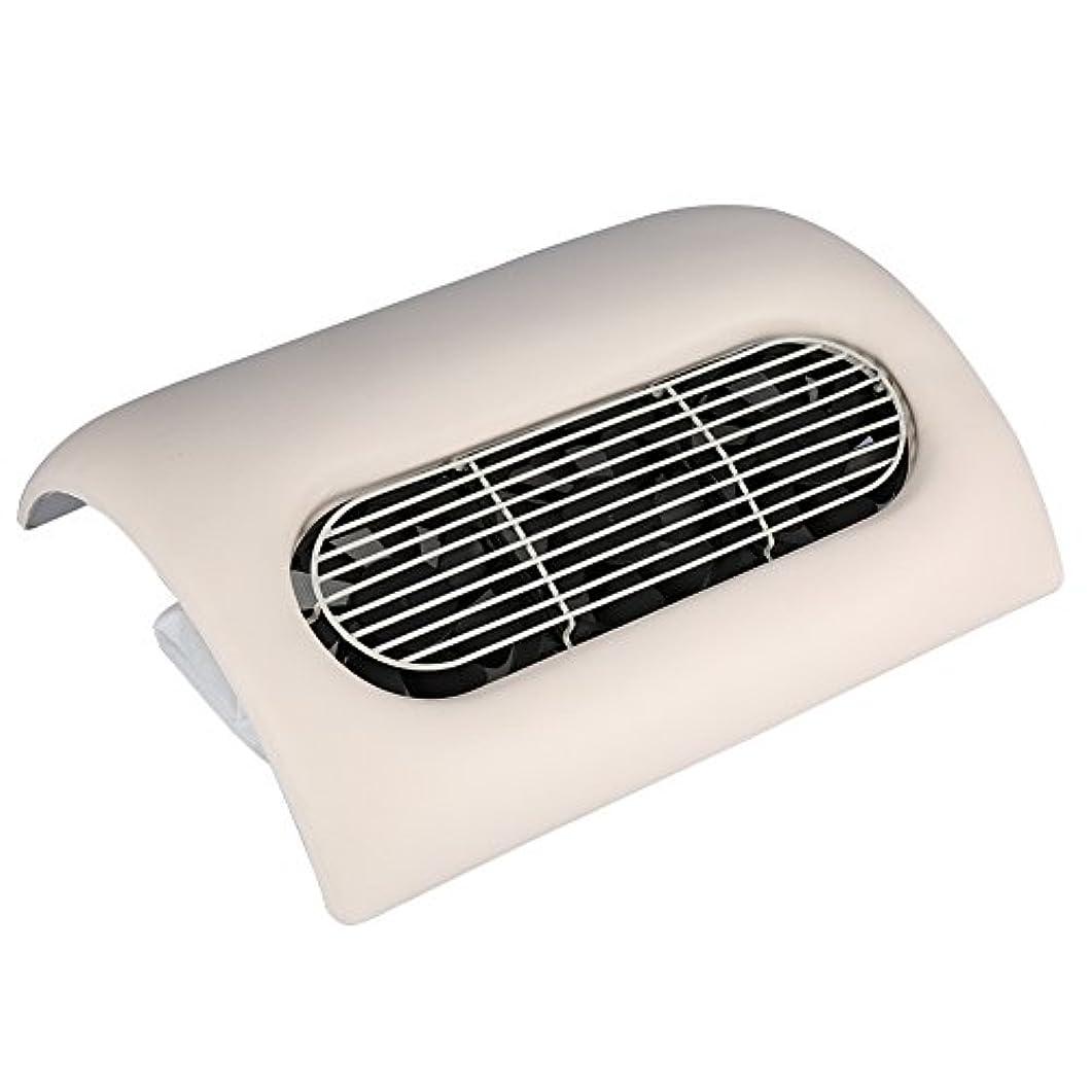 無能割合タワーネイルダストサクション、サロンアートジェルポーランドマニキュア掃除機実用サロン洗浄装置 (ベージュ)