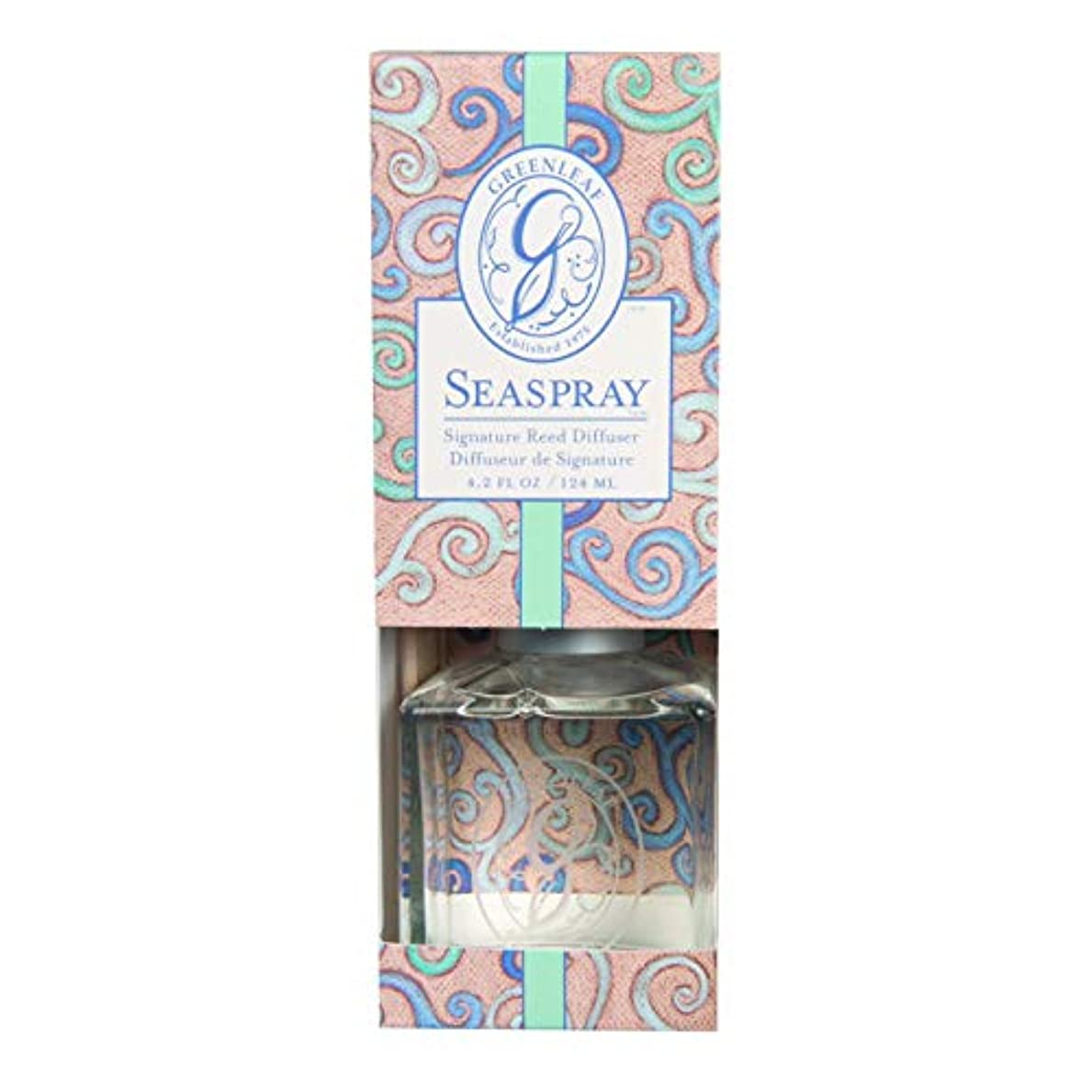 広がり隠された式GREENLEAF REED DIFFUSER SEA SPRAY