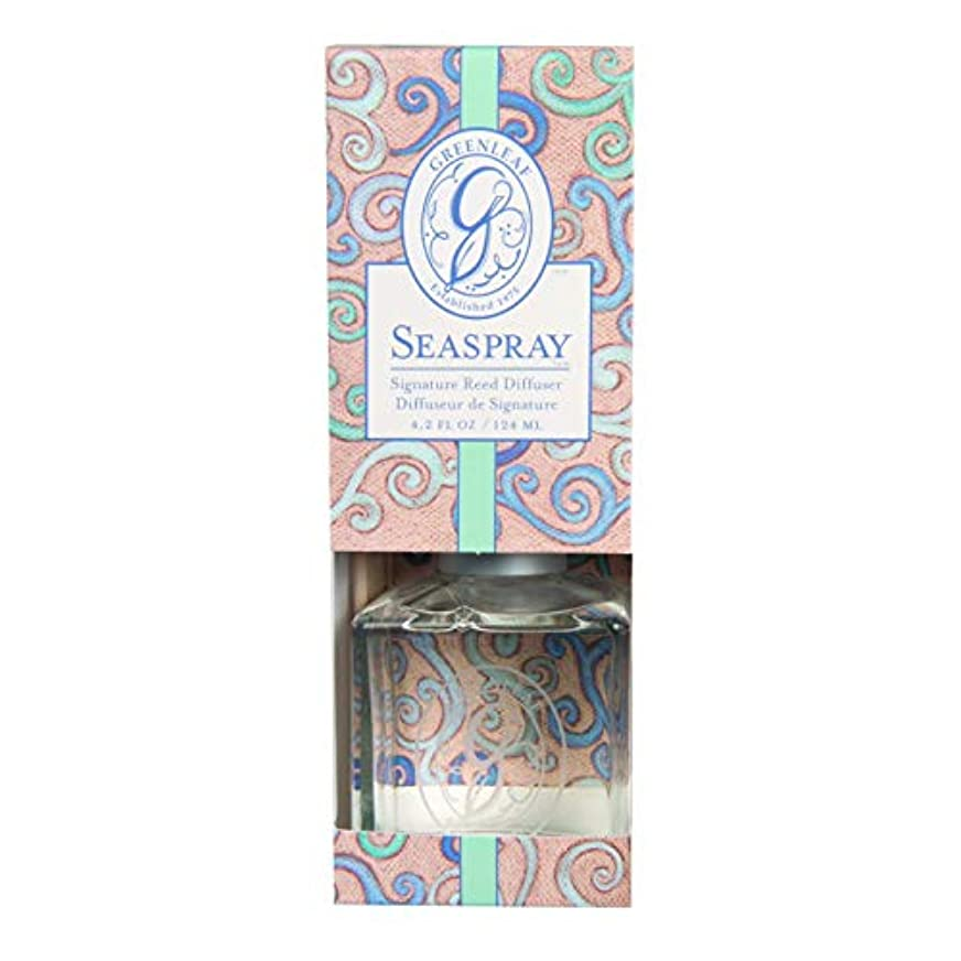 叱るアラブ人長いですGREENLEAF REED DIFFUSER SEA SPRAY