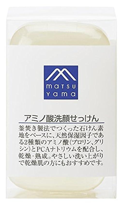 減る盟主加速度M-mark アミノ酸洗顔せっけん