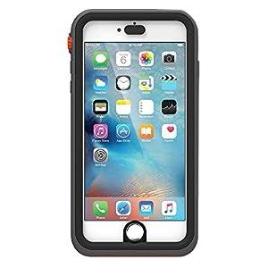 【日本正規代理店品】catalyst iPhone 6 Plus/6s Plus 5m完全防水 / 防塵 /耐衝撃ケース ブラックオレンジ CT-WPIP155-BKOR