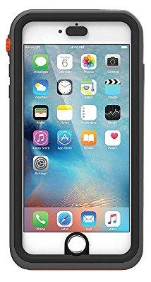 【日本正規代理店品】catalyst iPhone 6 Plus/6s Plus 5m完全防水 / 防塵 /耐衝撃ケース ブラックオレンジ ...