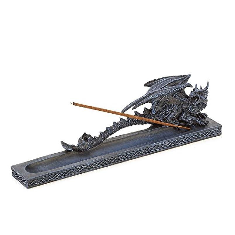 対話成熟した地獄Incense Burners、樹脂ドラゴン香炉像for Incense Stick