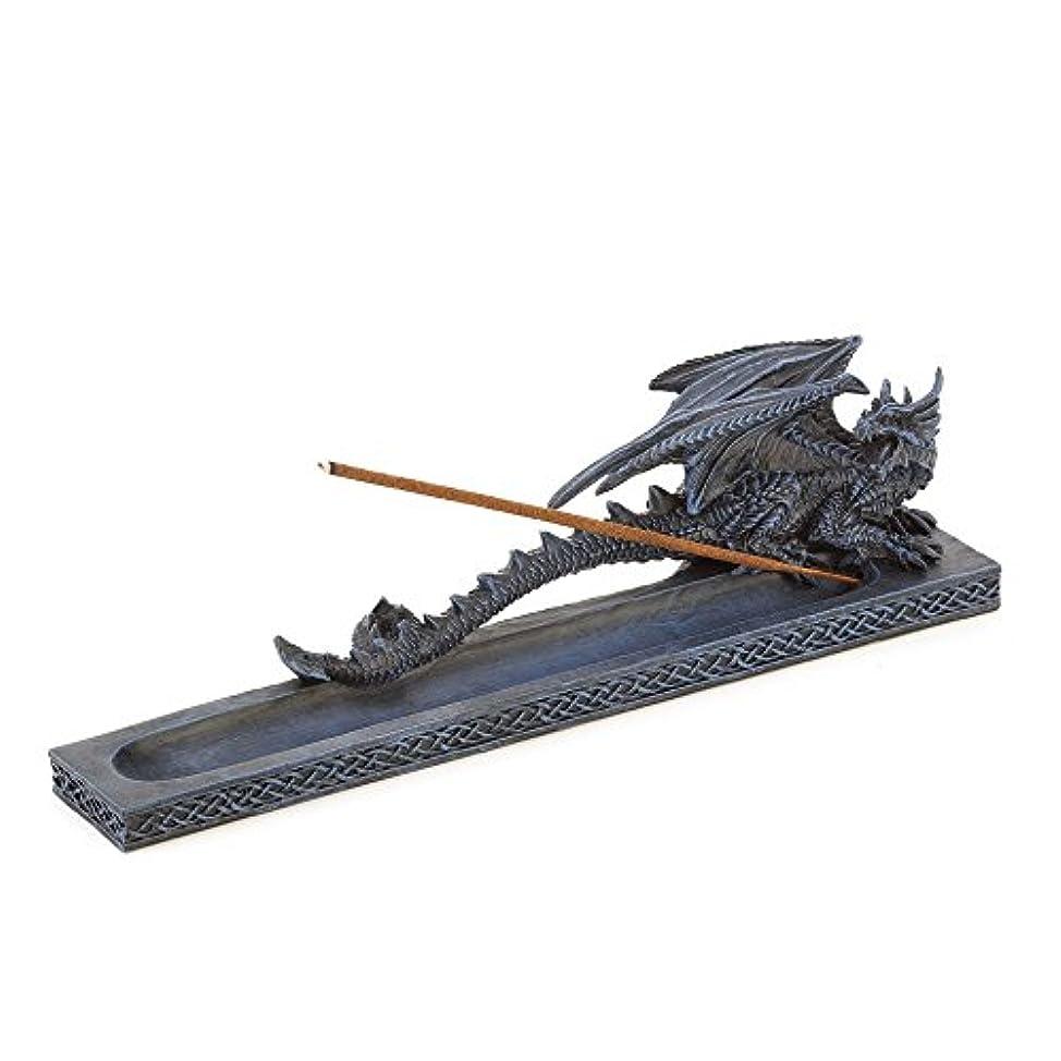 掻く暴力区別するIncense Burners、樹脂ドラゴン香炉像for Incense Stick