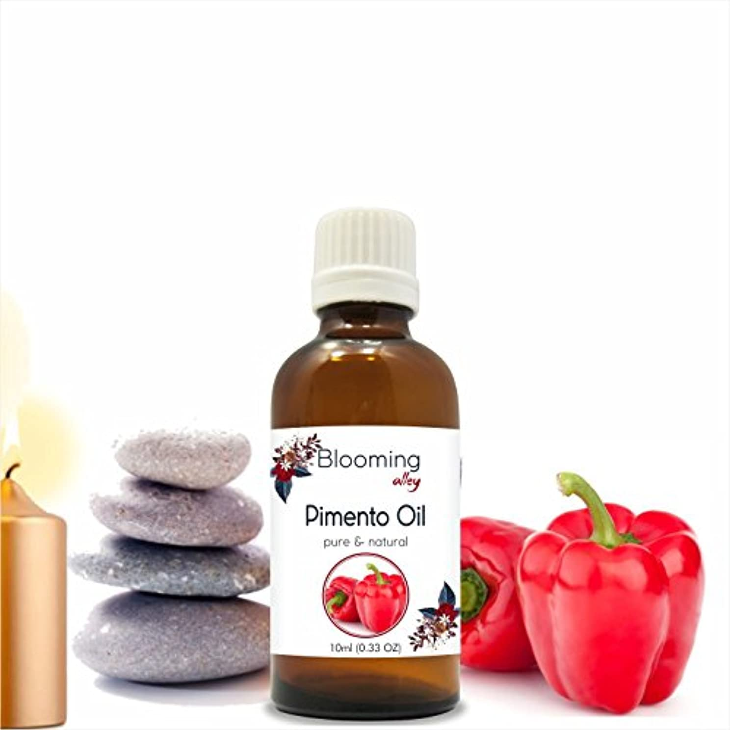 一緒たまに事前にPimento Oil(Pimenta Dioica) Essential Oil 10 ml or 0.33 Fl Oz by Blooming Alley