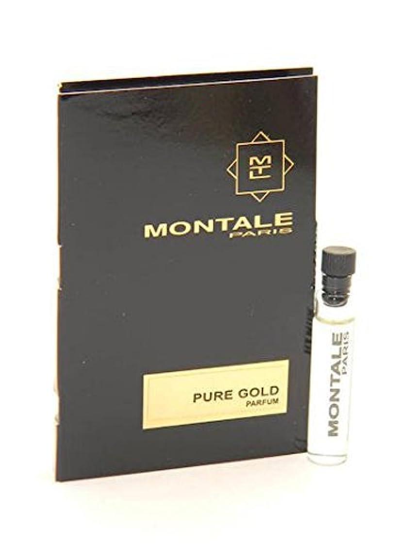 収縮比類なき永久Montale Pure Gold EDP Vial Sample 2ml(モンタル ピュア ゴールド オードパルファン 2ml)[海外直送品] [並行輸入品]