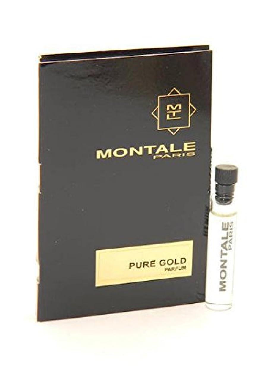 チーズ平均自慢Montale Pure Gold EDP Vial Sample 2ml(モンタル ピュア ゴールド オードパルファン 2ml)[海外直送品] [並行輸入品]