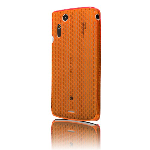 MSY Polyvalent Series Web Case Ice Ver. for Xperia acro Clear Orange/クリアオレンジ EPA03-004OR